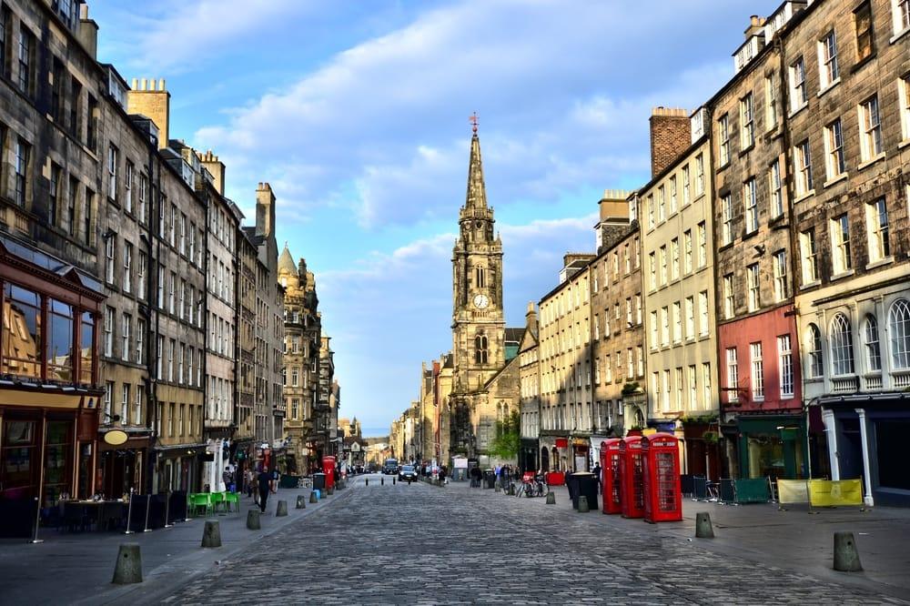 Historic Royal Mile, Edinburgh, Scotland