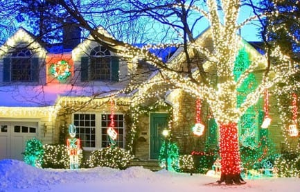 Candy Cane Lane Milwaukee in 2016