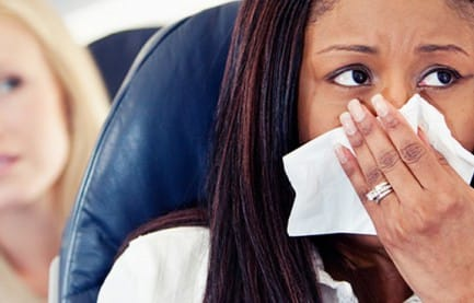 Top 3 Ways to Avoid Getting Sick on an Airplane