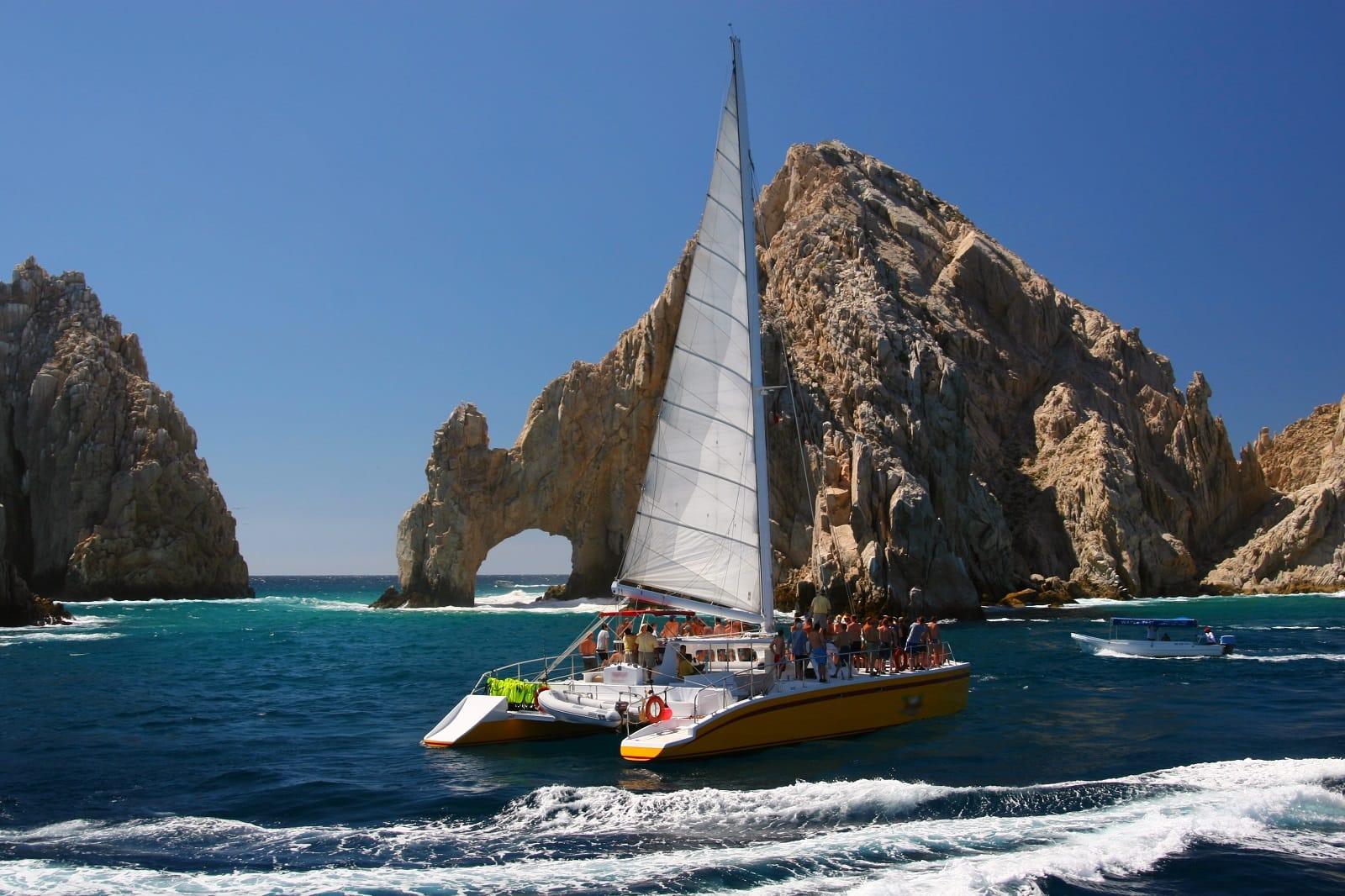 Week30_6_Catamaran at Los Arcos in Cabo San Lucas