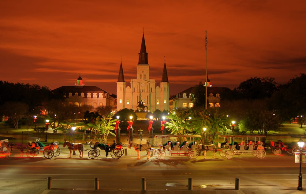 Jurassic World- New Orleans' Jackson Square