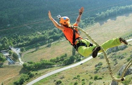 5 Best Places in the U.S. for Bungee Jumping