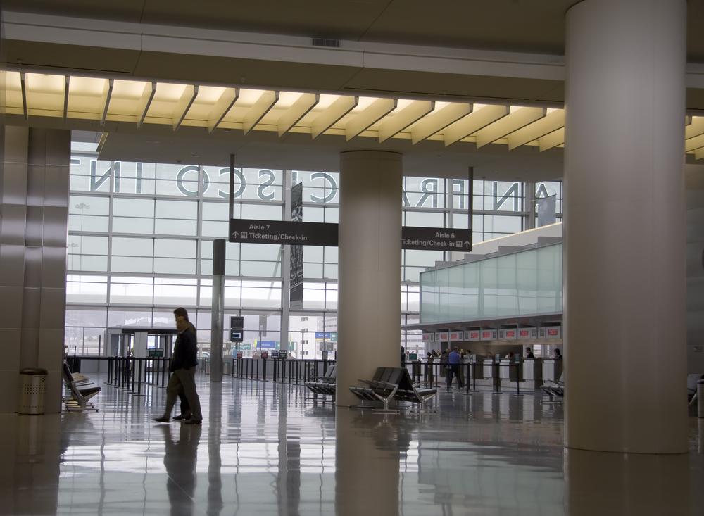 Airport terminal SFO