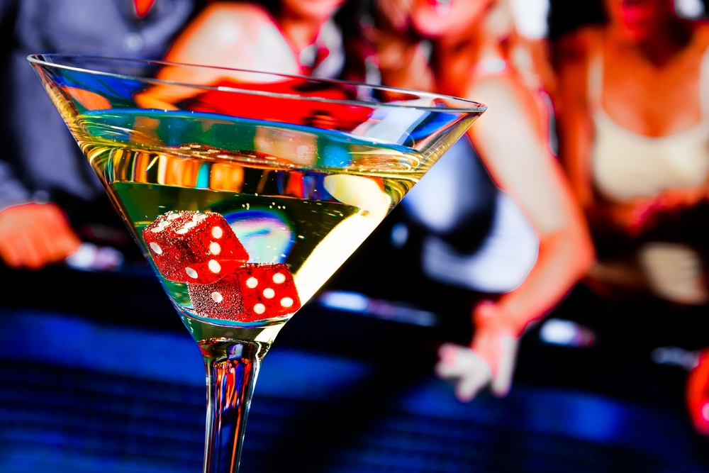 Body - dice in martini