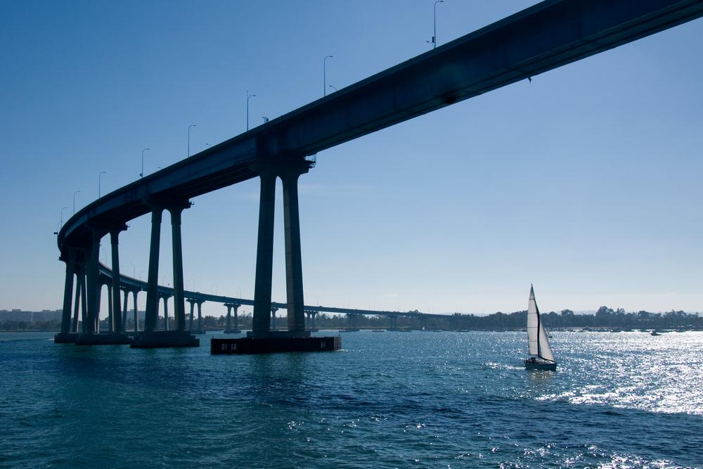 The San Diego-Coronado Bridge